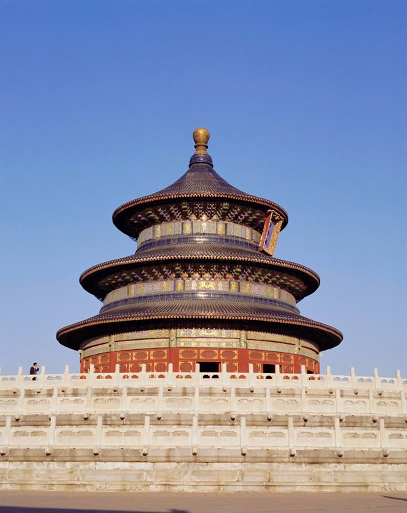 Stock Photo: 1890-67166 Temple of Heaven, Beijing Peking, China