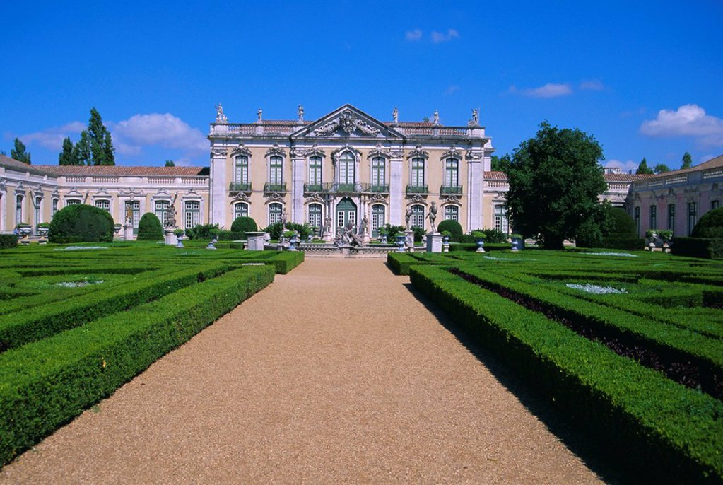 Stock Photo: 1890-69339 Queluz Palace, Lisbon, Portugal, Europe