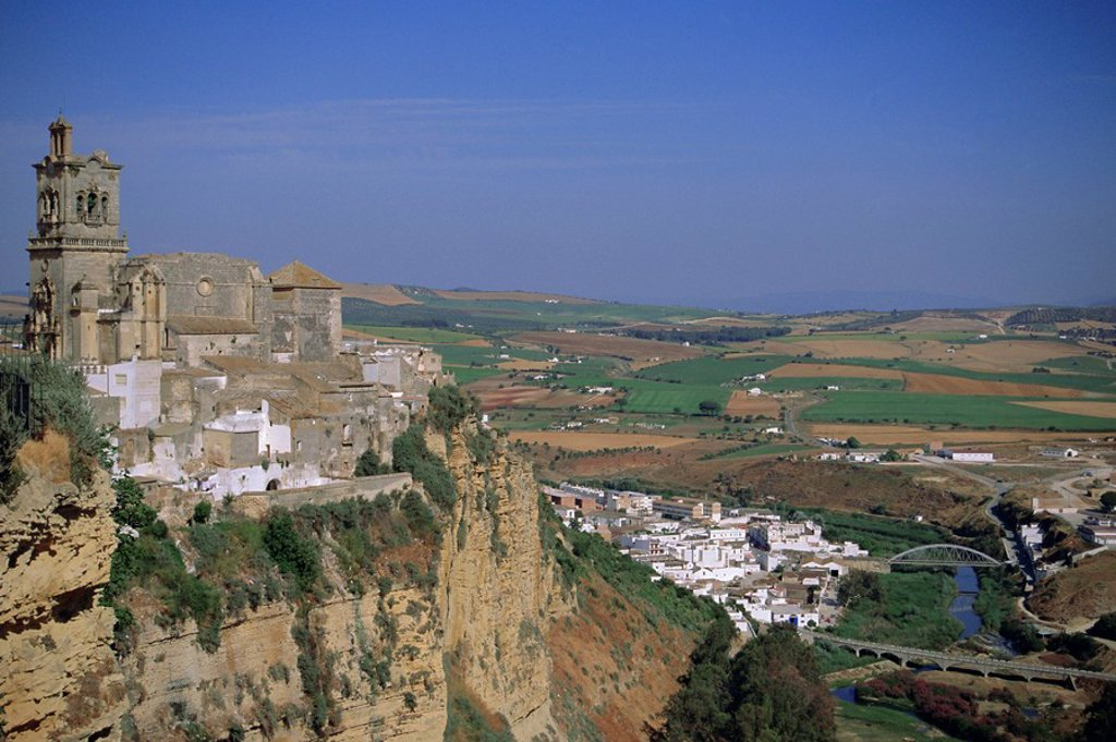 Stock Photo: 1890-69387 Arcos de la Frontera, Andalucia Andalusia, Spain, Europe