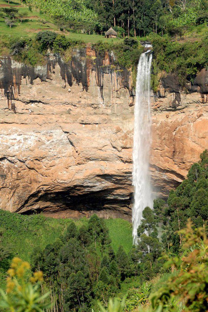 Stock Photo: 1890-69404 Sipi Falls, Mount Elgon, Uganda, East Africa, Africa
