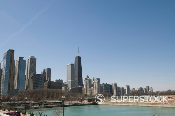 Chicago, Illinois, United States of America, North America : Stock Photo