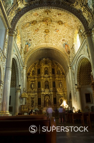 Church of Santo Domingo, Oaxaca City, Oaxaca, Mexico, North America : Stock Photo