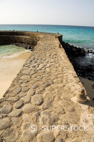 Stock Photo: 1890-72096 New development for booming property market, Santa Maria, Sal Salt, Cape Verde Islands, Africa