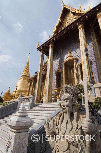 Stock Photo: 1890-72496 The Grand Palace, Bangkok, Thailand, Southeast Asia, Asia