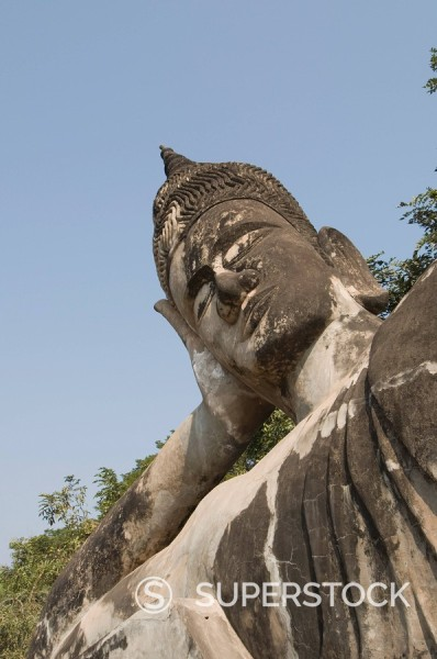Stock Photo: 1890-72533 Buddha Park, Xieng Khuan, Vientiane, Laos, Indochina, Southeast Asia, Asia