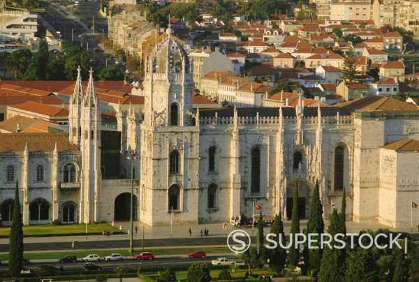 Stock Photo: 1890-73039 Mosterio dos Geronimos, Lisbon, Portugal, Europe