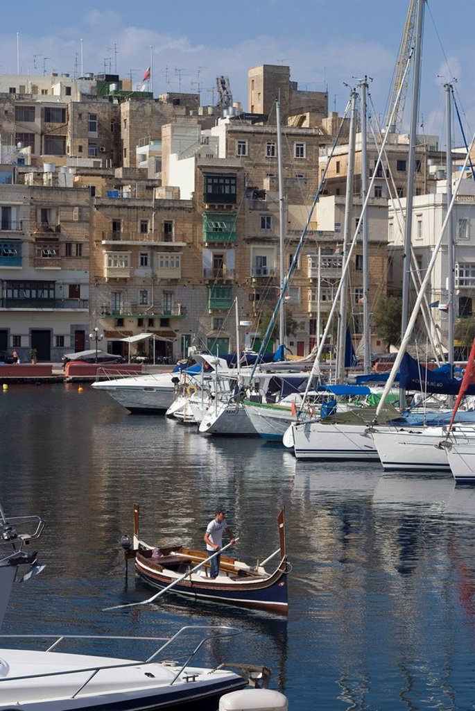 Stock Photo: 1890-73364 Vittoriosa, Malta, Mediterranean, Europe