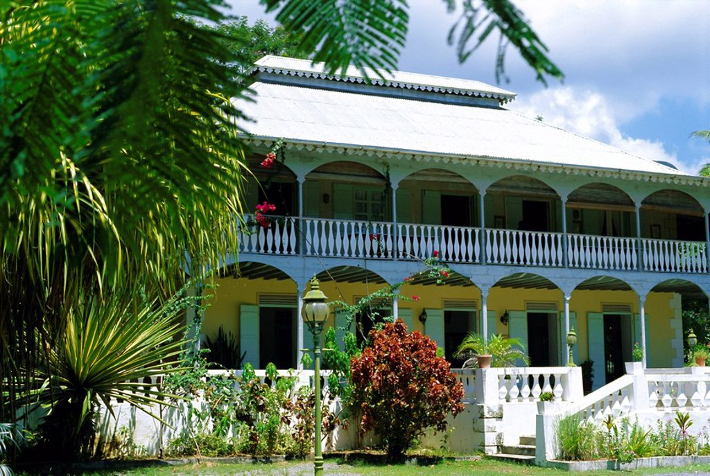 Stock Photo: 1890-75401 Habitation Saint Joseph, Seychelles Creole Institute, Mahe, Seychelles