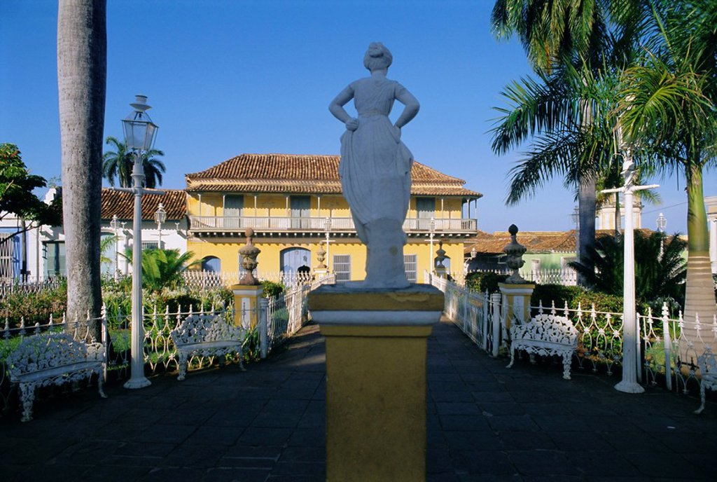 Stock Photo: 1890-75414 Grand_Place Playa Mayor/Serrano, town of Trinidad, Sancti Spiritus Region, Cuba, West Indies, Central America