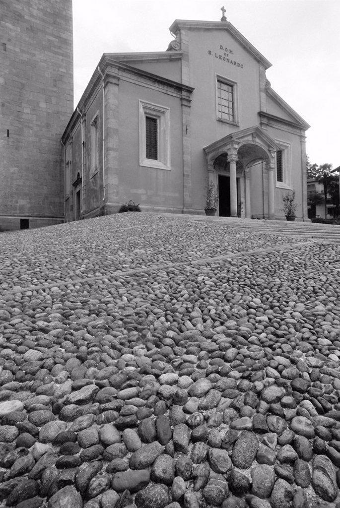 Stock Photo: 1890-75656 S Leonardo Church, Pallanza, Italy