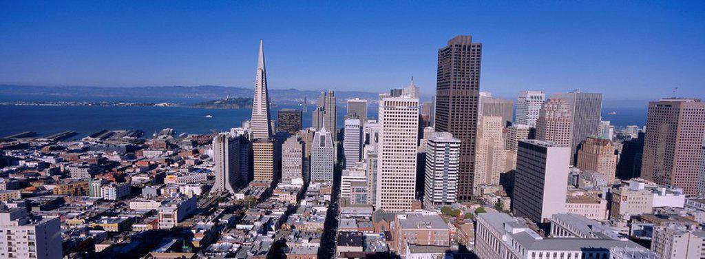 Stock Photo: 1890-76127 Downtown San Francisco, California, USA