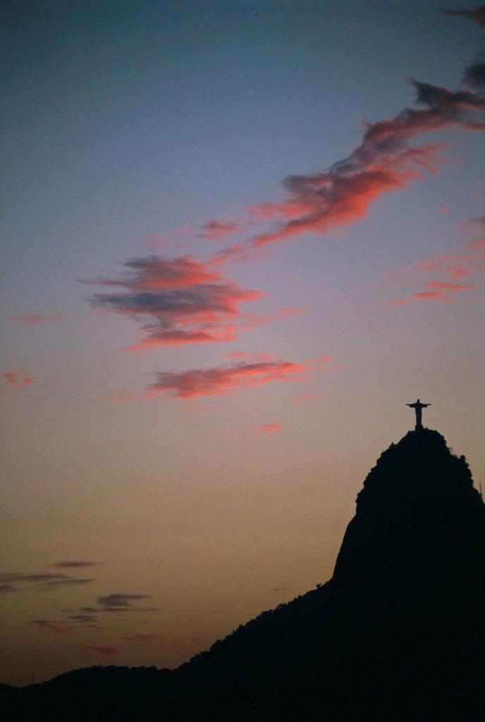 Stock Photo: 1890-76654 Corcovado, Rio de Janeiro, Brazil, South America