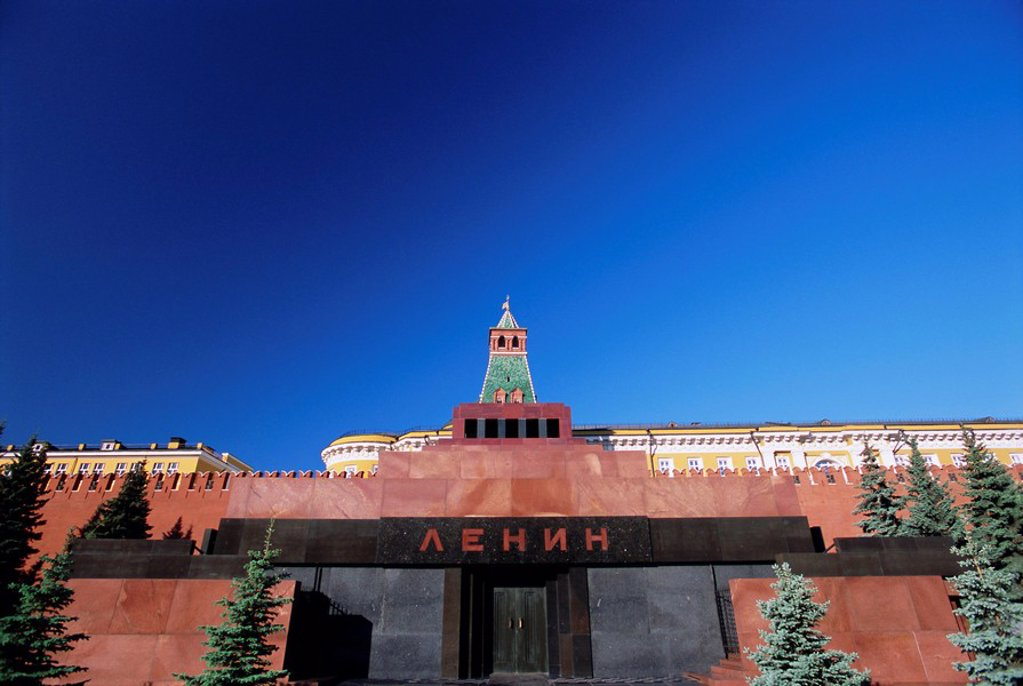 Lenin´s Tomb, Red Square, Moscow, Russia, Europe : Stock Photo