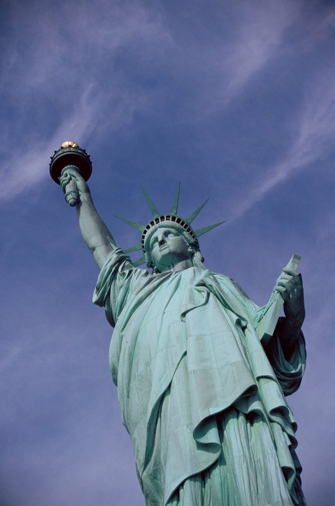 Statue of Liberty, New York City, New York, USA, North America : Stock Photo