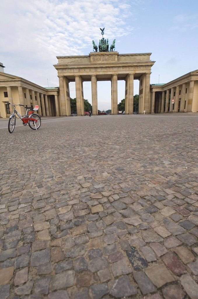 Stock Photo: 1890-77185 Brandenburg Gate, Berlin, Germany