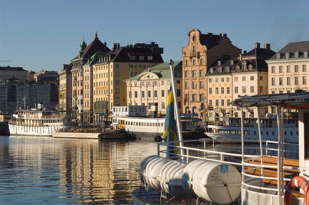 Nybroviken, Stockholm, Sweden : Stock Photo