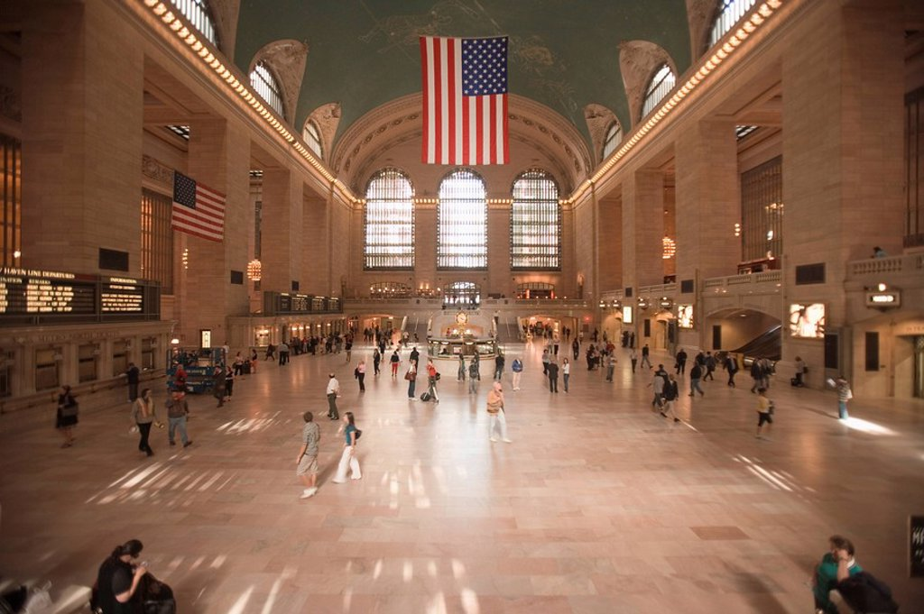 Stock Photo: 1890-78329 Grand Central Station, New York City, New York, United States of America, North America