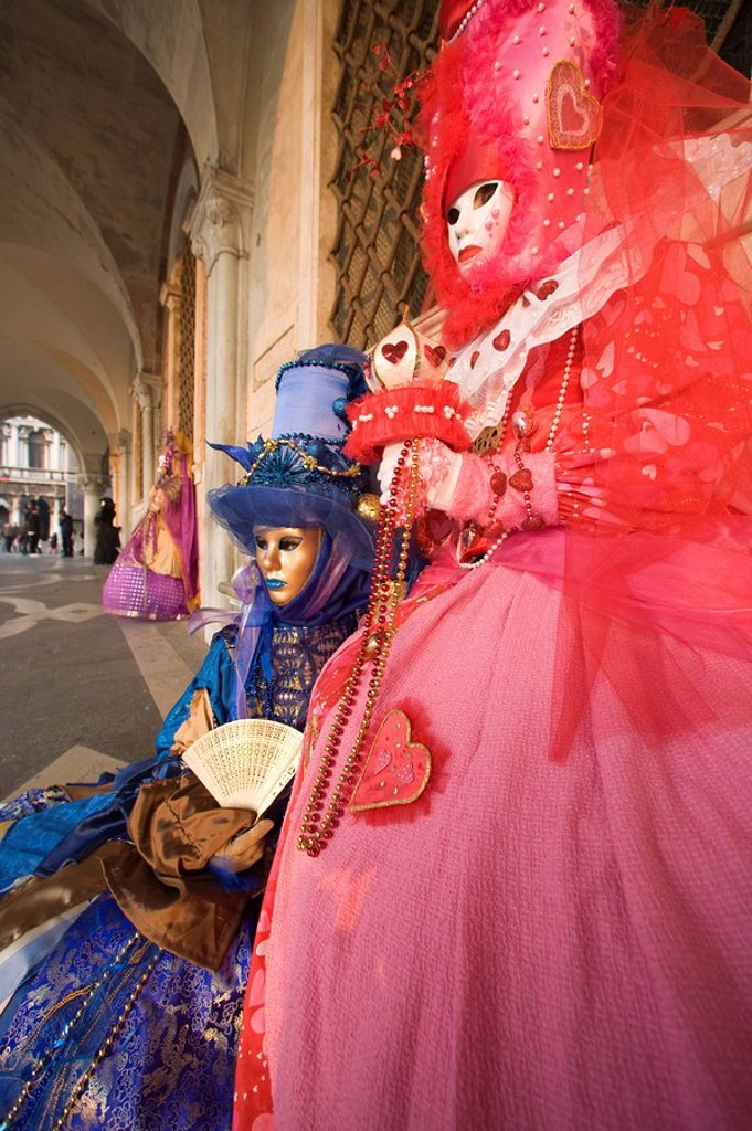 Stock Photo: 1890-78500 Venice Carnival, Venice, Veneto, Italy, Europe