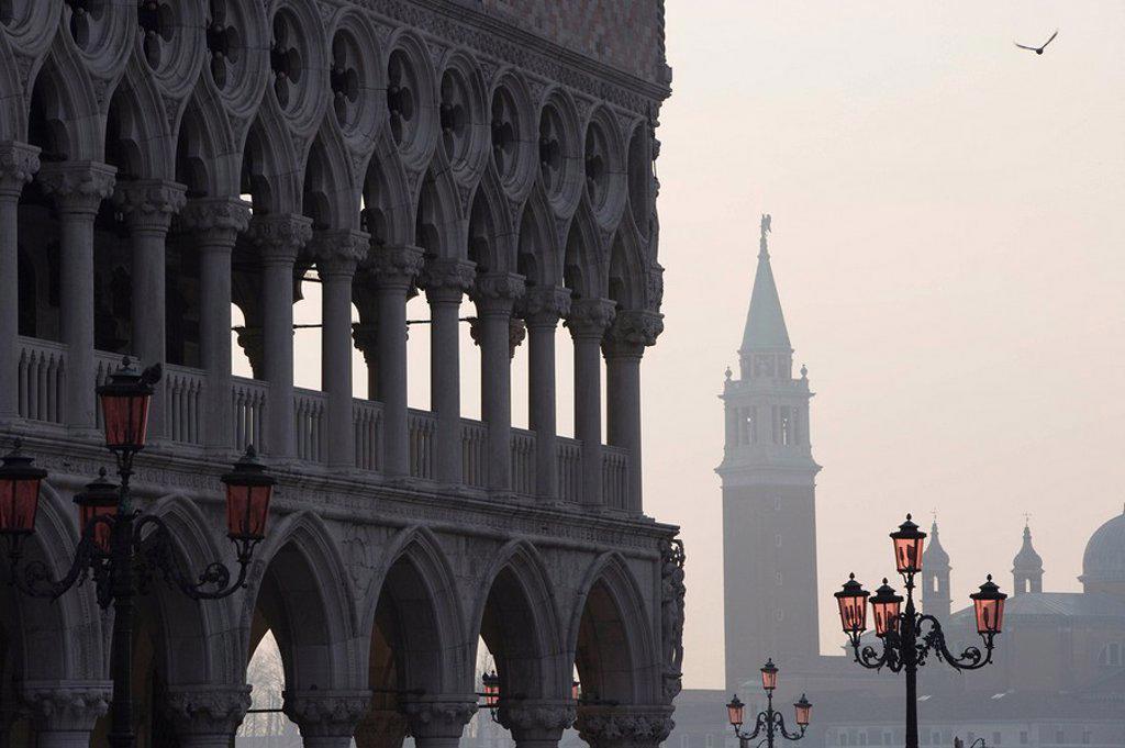 Venice, UNESCO World Heritage Site, Veneto, Italy, Europe : Stock Photo