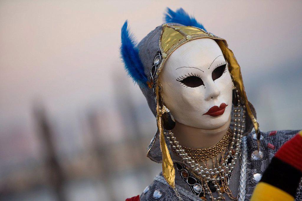 Stock Photo: 1890-78577 Venice Carnival, Venice, Veneto, Italy, Europe