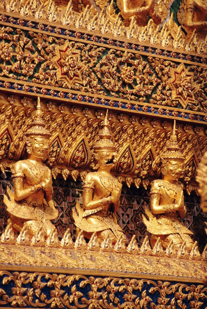 Stock Photo: 1890-79091 Grand Palace, Bangkok, Thailand