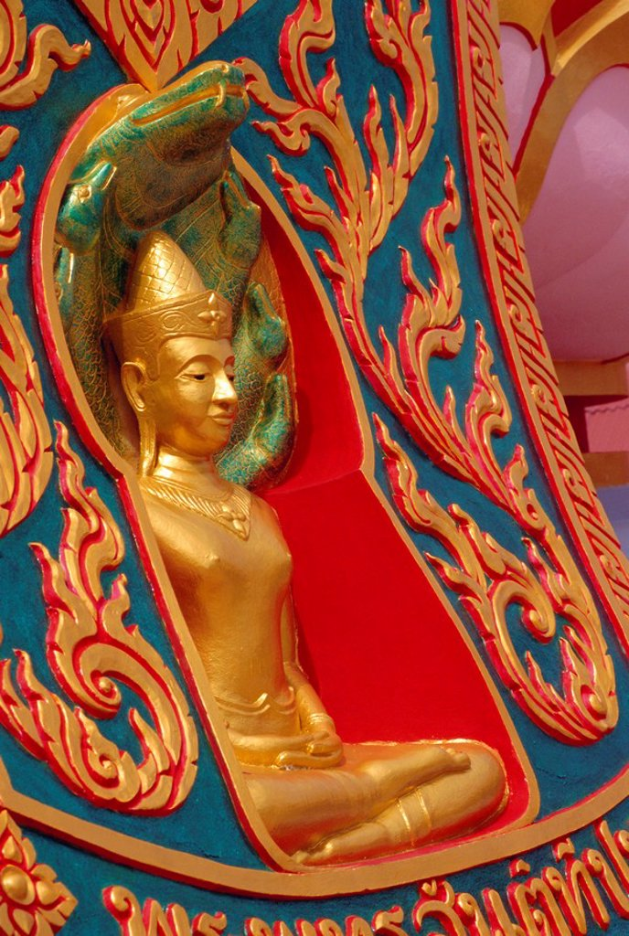 Stock Photo: 1890-79142 Thai temple, Ko Samui, Thailand