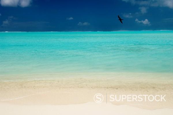 Bora_Bora, Leeward group, Society Islands, French Polynesia, Pacific Islands, Pacific : Stock Photo
