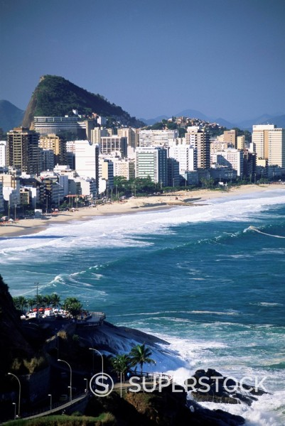 Stock Photo: 1890-80876 Ipanema, Rio de Janeiro, Brazil, South America