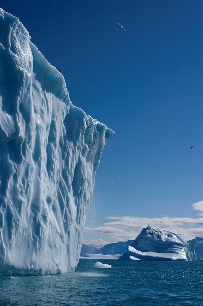 Iceberg, Ummannaq, Greenland, Polar Regions : Stock Photo