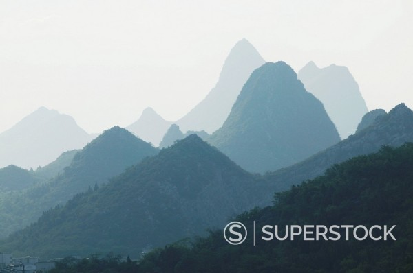 Stock Photo: 1890-85513 Yangshuo, Li River, Guilin, Guangxi Province, China, Asia