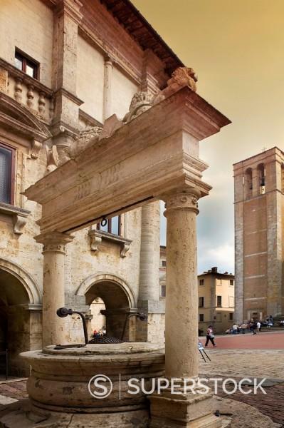 Montepulciano, Tuscany, Italy, Europe : Stock Photo