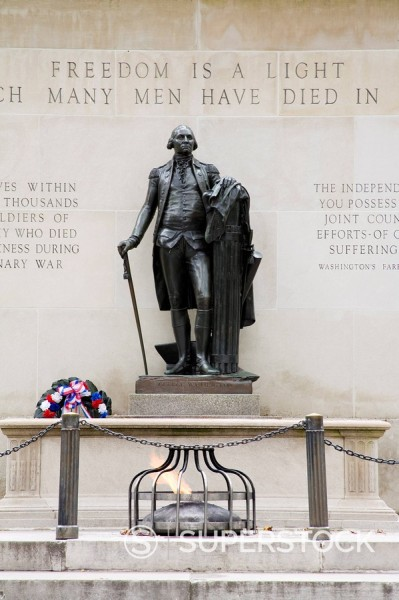 Stock Photo: 1890-92886 Tomb of the Unknown Soldier, Washington Square, Philadelphia, Pennsylvania, United States of America, North America