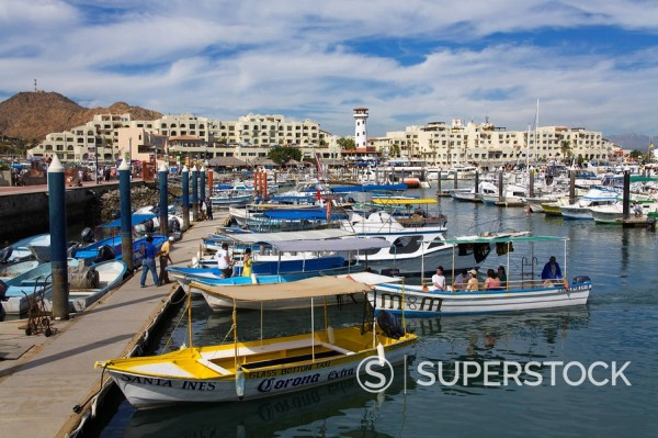 Stock Photo: 1890-92993 Marina, Cabo San Lucas, Baja California, Mexico, North America