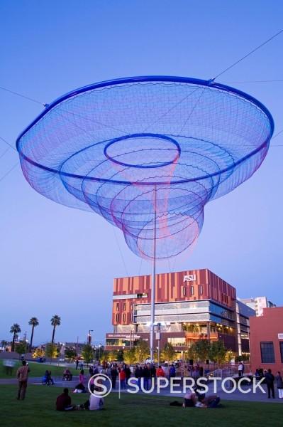 Civic Space Park, Phoenix, Arizona, United States of America, North America : Stock Photo