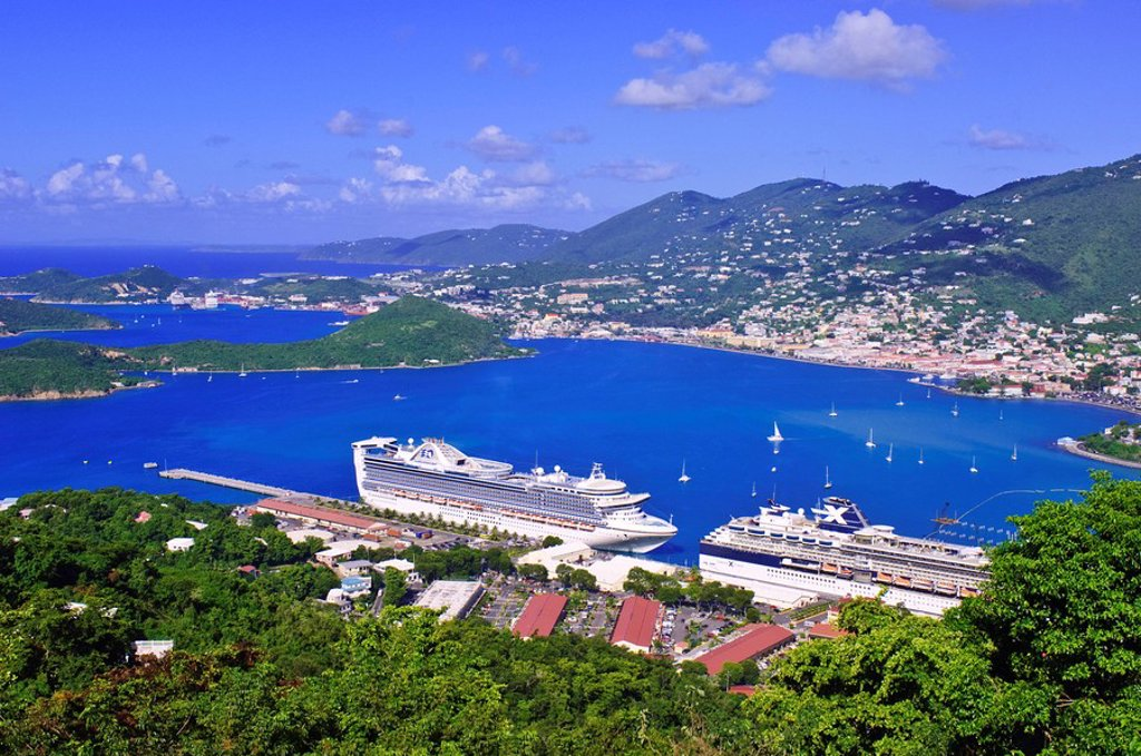 St. Thomas, United States Virgin Islands, West Indies, Caribbean, Central America : Stock Photo