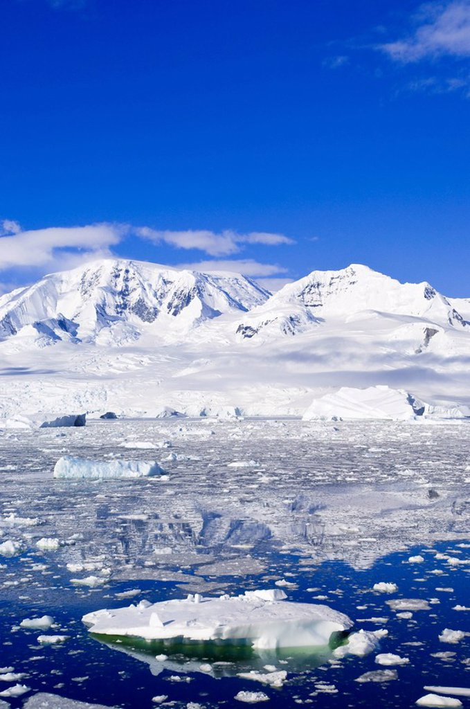 Neko Cove Harboor, Antarctica, Polar Regions : Stock Photo
