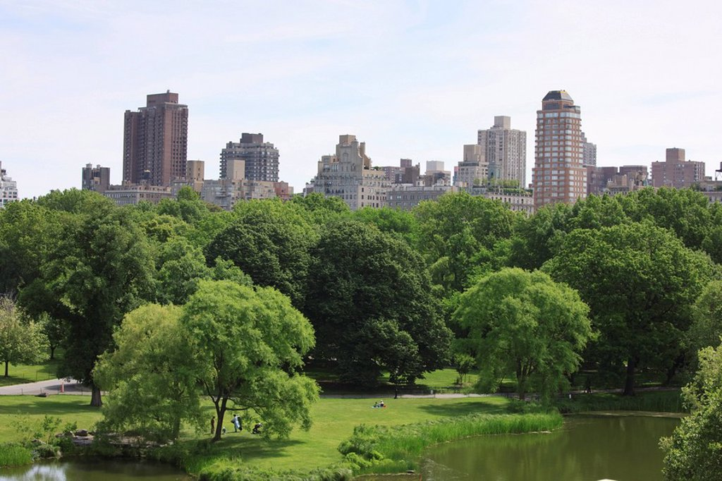Stock Photo: 1890-94369 Central Park, Manhattan, New York City, New York, United States of America, North America