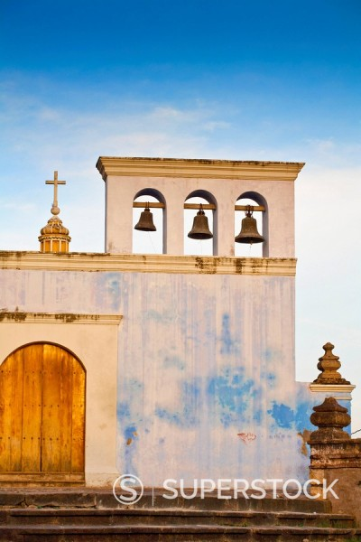 Stock Photo: 1890-96047 Convento Y Museo San Francisco, the oldest church in Central America, Granada, Nicaragua, Central America