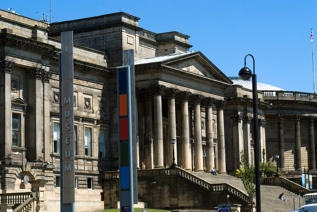Stock Photo: 1890-96602 The World Museum, part of Liverpool´s museum complex, Liverpool, Merseyside, England, United Kingdom, Europe