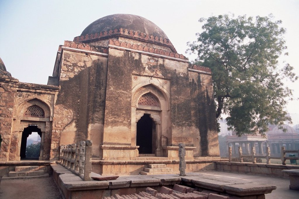 Stock Photo: 1890-9828 Haus Khas Muslim monuments, Delhi, India, Asia