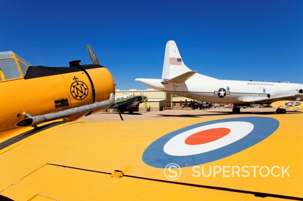Stock Photo: 1890-99956 Pima Air and Space Museum, Tucson, Arizona, United States of America, North America