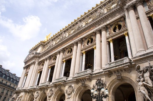 France, Paris, Opera Garnier opera house : Stock Photo