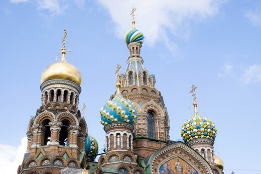 Church of the Resurrection of Christ, St. Petersburg, Russia : Stock Photo