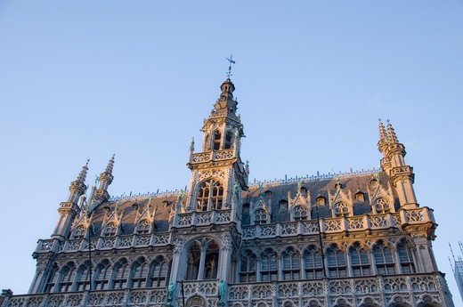 Stock Photo: 1893-756 Belgium, Brussels, Maison du Roi (King's House), or Broodhuis (Breadhouse) in Grand Place
