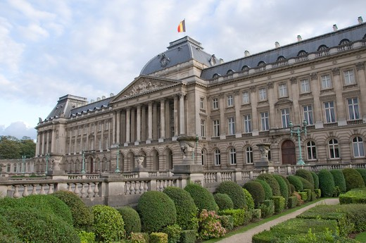 Stock Photo: 1893-767 Belgium, Brussels, Royal Palace of Brussels