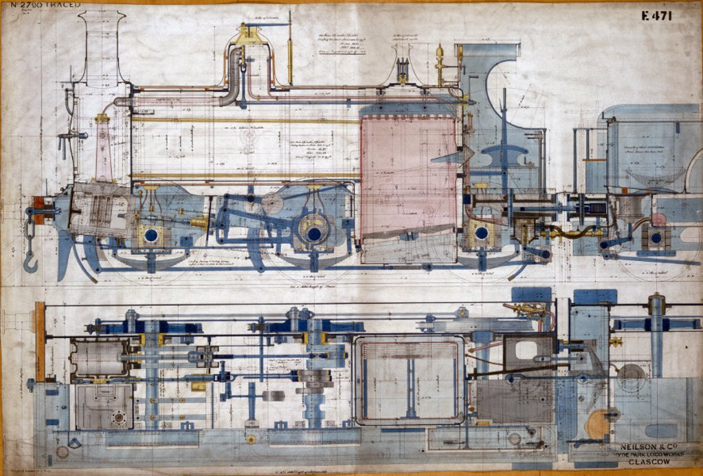 Stock Photo: 1895-10277 0-6-0 tank locomotive, 1878.
