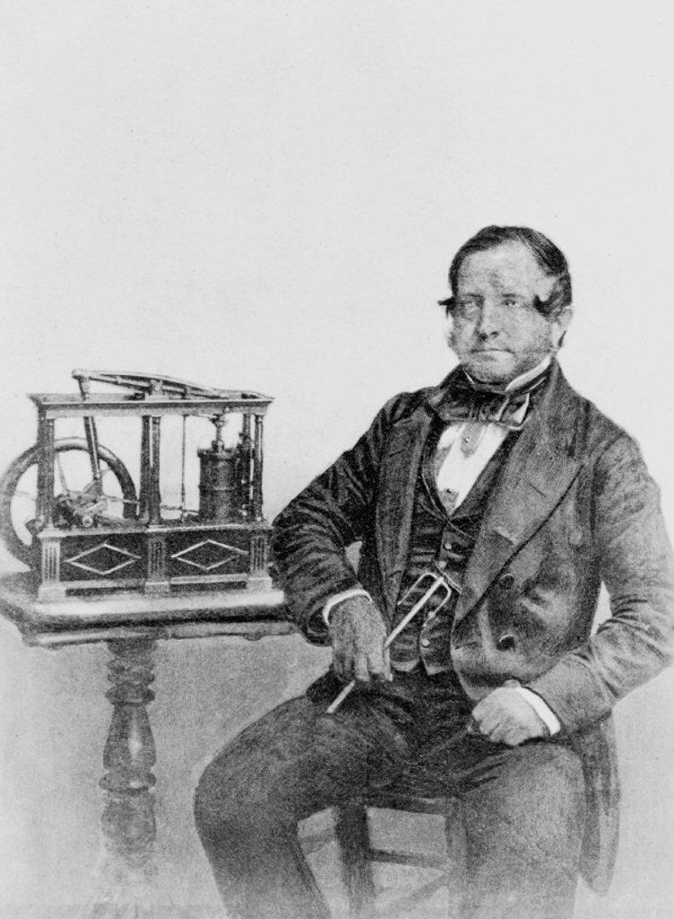 Benjamin Fothergill, c 1850s. : Stock Photo