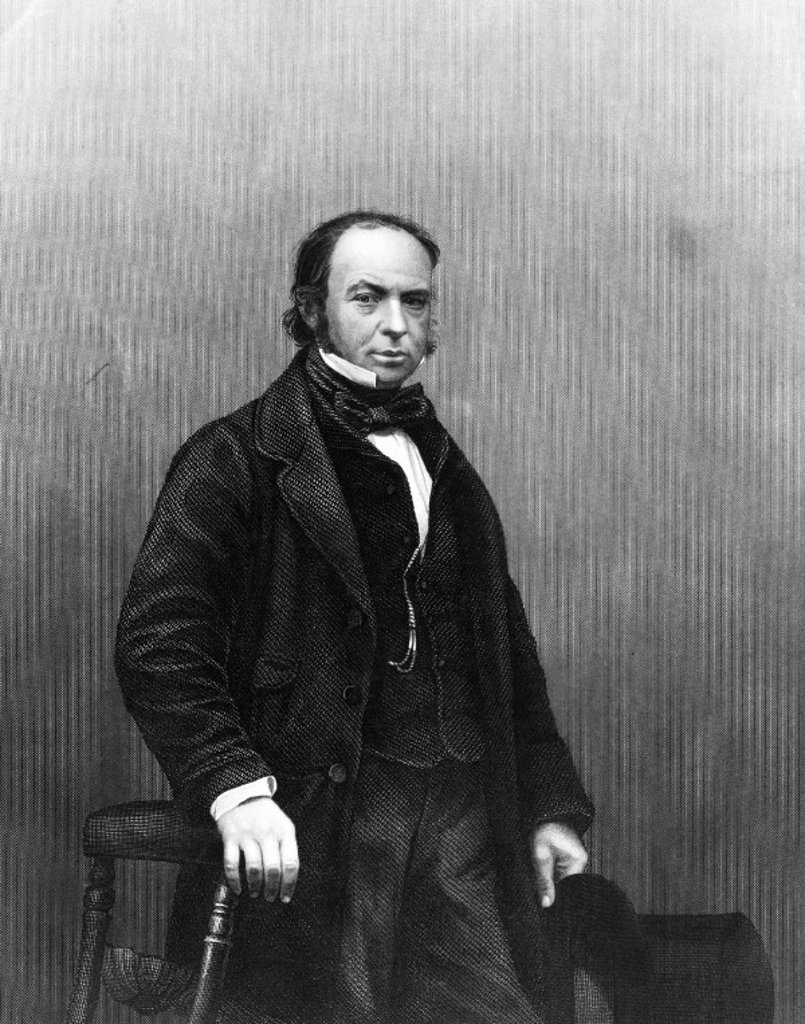Stock Photo: 1895-10869 Isambard Kingdom Brunel, English engineer, c 1850s.