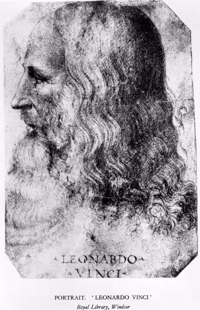 Stock Photo: 1895-11248 Leonardo da Vinci, Italian artist, engineer and inventor, c 1510.