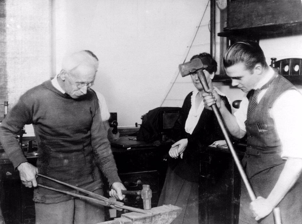 R E B Crompton, English inventor, 1920s. : Stock Photo
